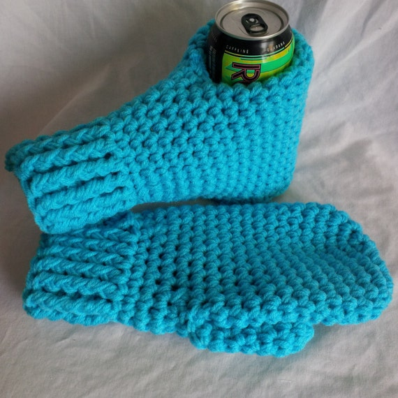 Crochet Beer Mitts Pattern