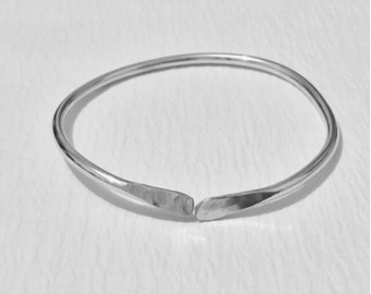 "Sterling Silver ""West Indian Style"" Bangle"