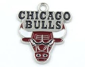 Chicago Bulls Basketball Charm