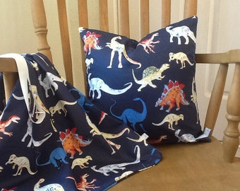 Childrens Laundry Bag and Matching Throw Pillow to decorate childrens bedroom or playroom for birthday gift or Christmas Gift