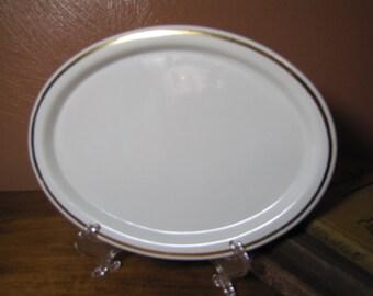 Vintage White Platter