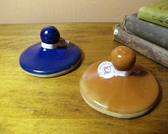 Vintage Clay and Porcelain Cookie Presses