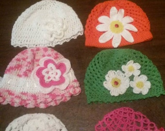Cotton summer hats