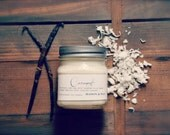 Coconut Mason Jar Soy Candle | Summer Candle | Gift Ready | Hostess Gift