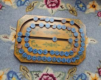 Victorian Era Children's Math Toy