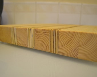 rustic chopping / cutting board for kitchen. HAND MADE unique serving tray