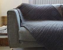 Cotton Throw Blanket - Throw Blanket - Crochet Baby Blanket - Crochet Afghan - Uncinetto - Couverture - крючком одеяло - Crochet Coperta