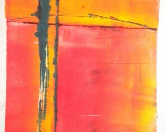 abstract color field print #1