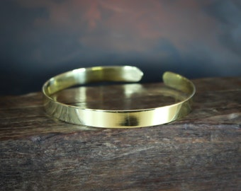 Arm Band, Gold arm cuff, Polished Solid Brass or Copper, Lead and Nickel Free, Gold Brass, Brass upper arm cuff,Upper arm band,Gold arm band