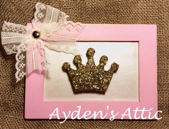 Pink Cream Gold Nursery Decor Baby Girl Nursery By