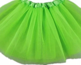 Light green tutu 2-6 yrs