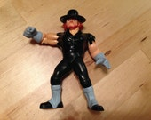 Vintage WWF Hasbro Wrestler Action Figure | The Undertaker | WWE | Collectable | WCW | Mark William Calaway