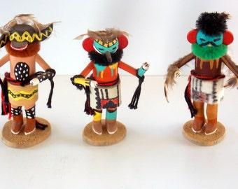 Kachina Dolls by Shadow Hawk