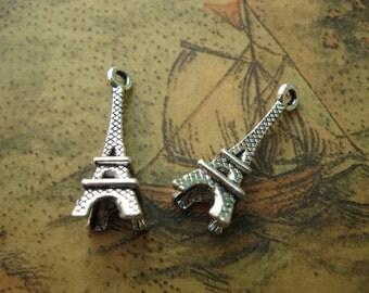 20pcs 8x23mm Eiffel Tower Charms Eiffel Tower Pendant A