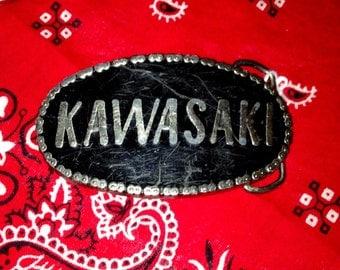 Kawasaki Belt Buckle