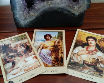 Quick Tarot Card Reading 3 Card Fast Reading Simple Question Easy Answer Fortune Telling Three Cards Spread Personalized Read