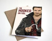 "Once Upon A Time ""Hooked"" Greeting Card"