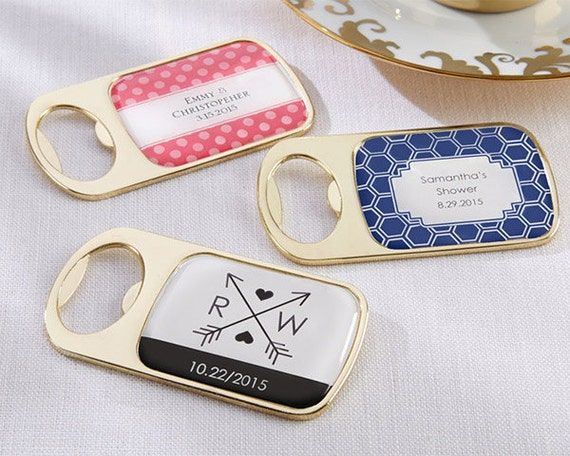 bottle opener wedding favor personalized wedding favor bottle opener