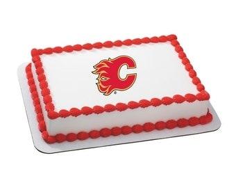 Edible Image NHL CALGARY Flames