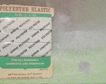 Vintage Polyester Elastic