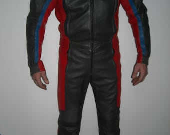 Vintage BMW Leather Motorcyle suit