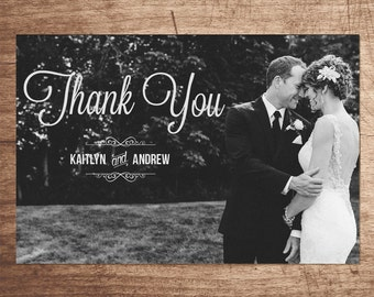 Custom Photo Card - Thank you + Save the Date + Holiday cards + more!