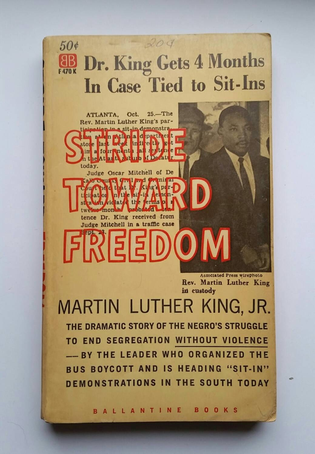 stride toward freedom 'stride toward freedom' is the account of that pivotal turning point in american history told through martin luther king's own experiences and stories.