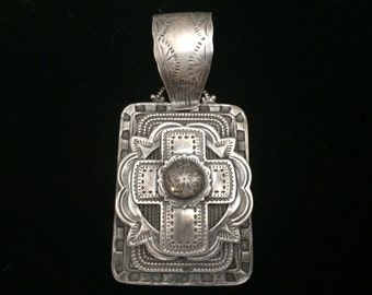 Unique Gorgeous Sterling Silver Custom Cross