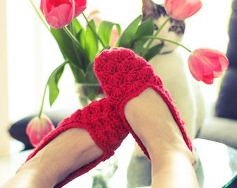 CROCHET SLIPPER PATTERN, Crochet Pattern, Slipper Pattern, Womens House Slipper, Womens Slipper, Slippers Pattern  Size 35-43/ 4-12,