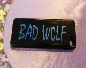 Bad Wolf- doctor who - vinyl phone sticker
