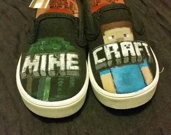 Minecraft Shoe Style 2