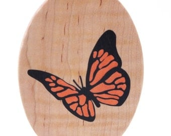 Butterfly Art, Ornament, Marquetry wood inlay