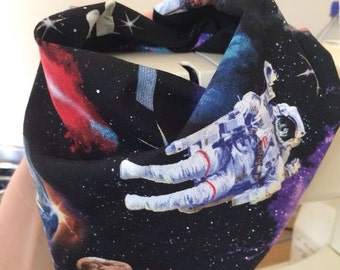Space Bandanna Bib