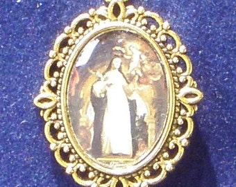 Saint Rose of Lima Religious Medal, patron saint of Peru and South America