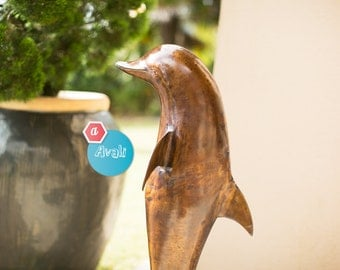 Dolphin Statue made of Brass and Copper