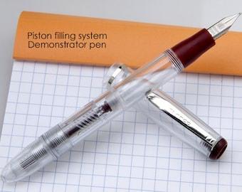 Dollar Transparent Fountain pen