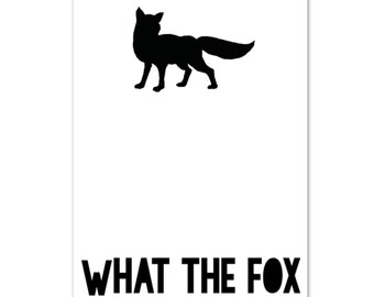 Card Fox Quote