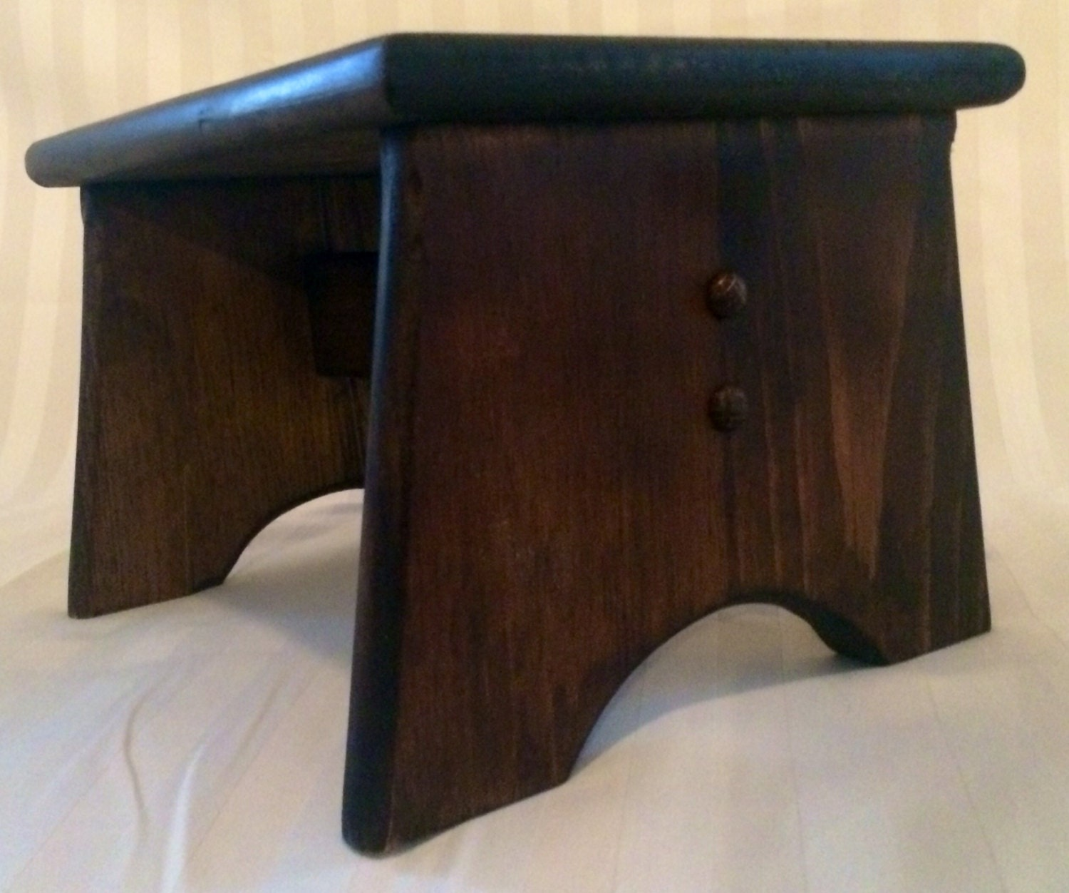 Handmade Wooden Small Step Stool By BarristerCreek On Etsy. Full resolution  snapshot, nominally Width 1500 Height 1252 pixels, snapshot with #326299.