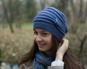Womens Hat  Knit Hats. Womens beret Womens Knit Winter Hats, Womens Knit Hats, Knit Womens Hats, Beanie Hat