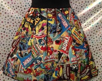 Marvel Comic Skirt