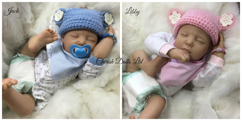 Twin New Babies Reborn Baby Realistic 22 Big Newborn