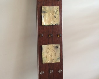 Timber and Clay wall hanging