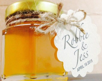 Small Honey Pot Wedding Favour (Custom)