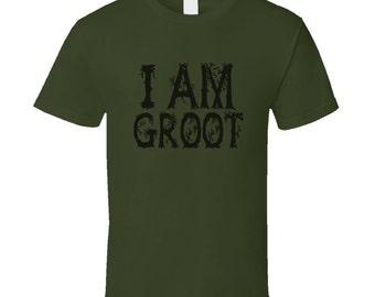 I Am Groot T Shirt Guardians of the Galaxy T Shirt Men Women Kids Youth T Shirt Tee Shirt