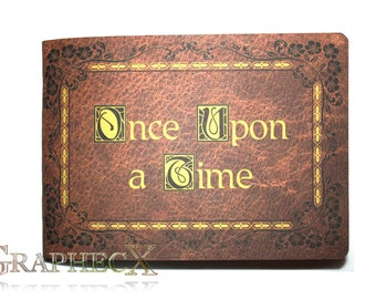 Once Upon a Time Henry's Storybook inspired personalized journal notebook