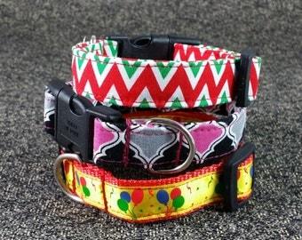 Dog Collar SEWING PATTERN PDF, Tutorial to make Dog Collars -All Sizes Bundle Pack