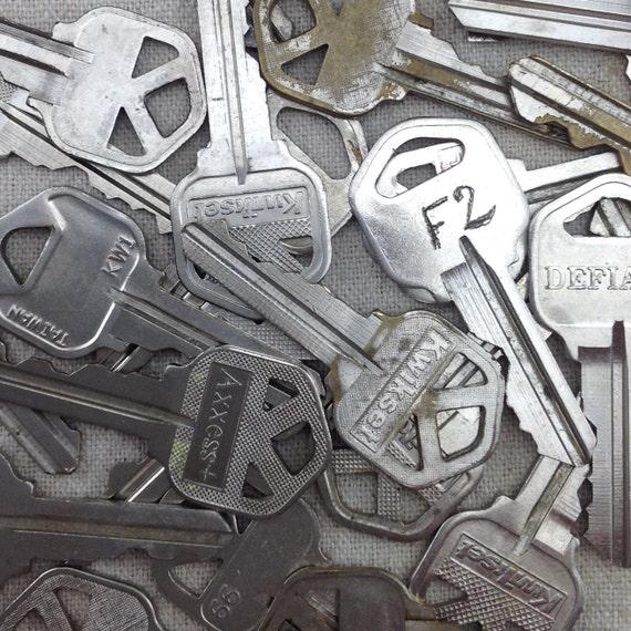 Old house keys destashed keys mixed media material scrap for Classic house keys samplephonics