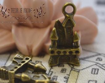 QKA042 044 045 046 047 Château lettre r Cross pendant jewelry charms manual