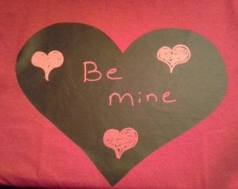 Chalkboard T-Shirt, Heart