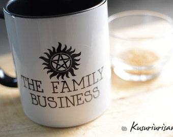 The family business Supernatural mug-4 color for choose